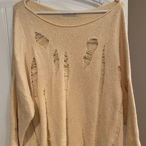 Zara Distressed Sweater
